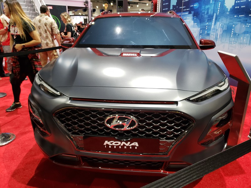 WATCH: Marvel unveils Iron-Man inspired Hyundai Kona at #SDCC, available 2019