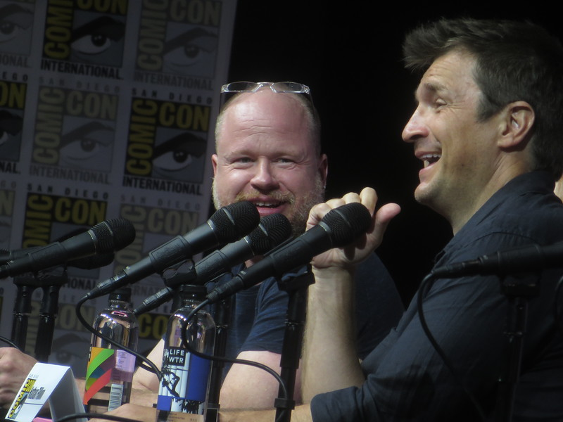 DR. HORRIBLE celebrates 10 years at #SDCC with Joss, Felicia, and Nathan