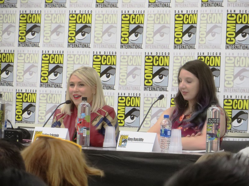 Ashley Eckstein takes to #SDCC to talk about her struggles, successes, and @HerUniverse