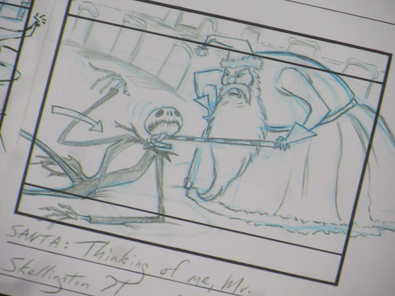 PICTORIAL: D23 'Nightmare Before Christmas' #SDCC panel brings classic photos, sketches, and more