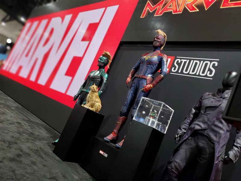 FIRST LOOK: 2019 #SDCC Exhibit Floor brings dizzying array of fandom to the forefront