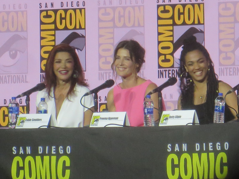 #SDCC: 'Women Who Kick Ass' this year bring powerhouse of talent; Smulders, Aghdashloo, Agyeman, Ryan, Gilpin
