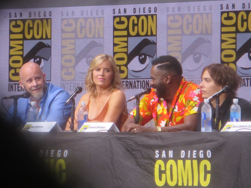 THE WALKING DEAD cast and crew pay tribute to John Bernecker during #SDCC Panel