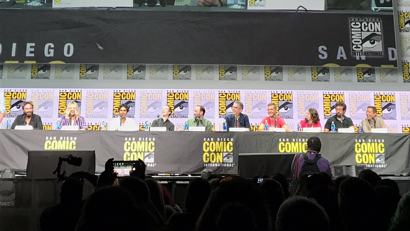 BIG BANG THEORY celebrates 10 years at #SDCC