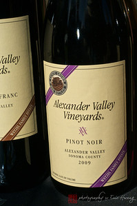 You wouldn't think that the Alexander Valley would be cool enough to grow Pinot, but this was pleasant surprise.