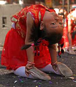 Little Dancer backbend, Autumn Moon Festival 2012, San Francisco