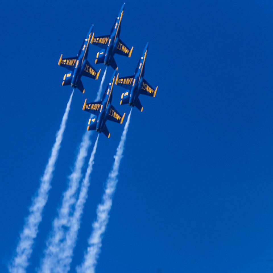 Fleet Week - San Francisco  2014-10-11  - Blue Angels
