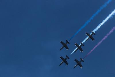 Fleet Week - San Francisco  2014-10-11  - Blue Angels - Red, White & Blue