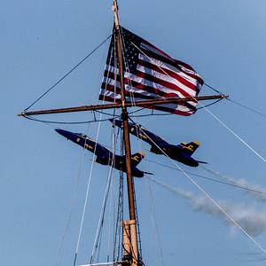 Fleet Week - San Francisco  2014-10-11  - Blue Angels - Pas a deux