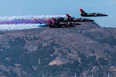 Fleet Week - San Francisco  2014-10-11  - Patriots Team