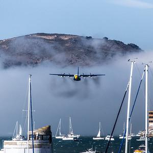 Fleet Week - San Francisco  2014-10-11  - Blue Angels Support Plane