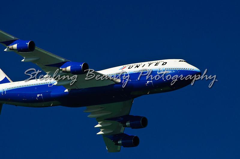 United Boeing 747