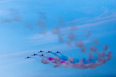 Fleet Week - San Francisco  2014-10-11  - Blue Angels - Puff Planes