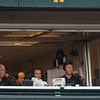 Buster Posey in the booth