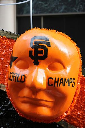San Francisco Giants Championship Celebration 2012