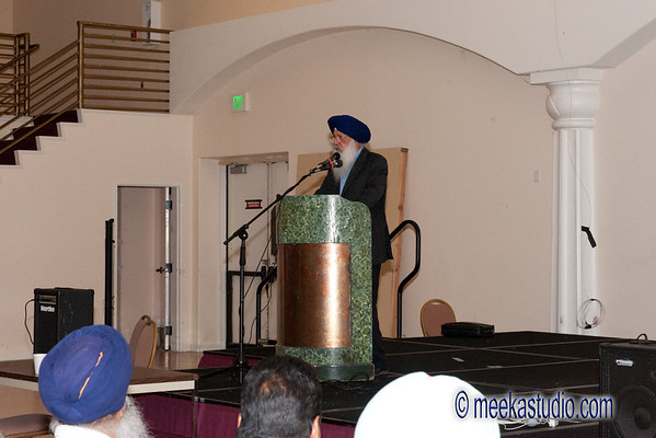 San Jose Gurdwara meeting at Rosewater Hall San Jose