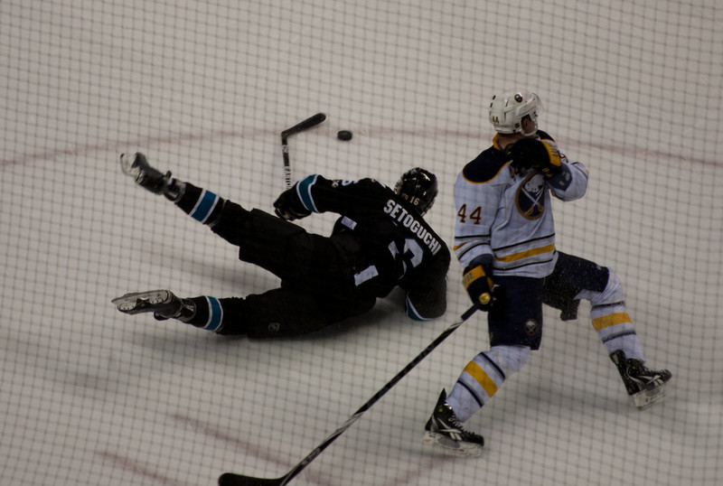 Sharks fall on their face losing to Buffalo Sabres 3-0