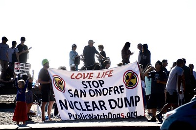 San Onofre Nuke Waste Protest