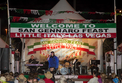 High quality photograph from this picture gallery of Entertainers at San Gennaro Feast 2011 at Silverton Casino in Las Vegas. Image by Las Vegas photographer Mark Bowers of www.ReallyVegasPhoto.com  All rights reserved.