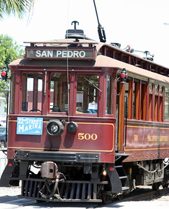 San Pedro trolley.