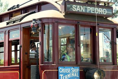 San Pedro trolley.