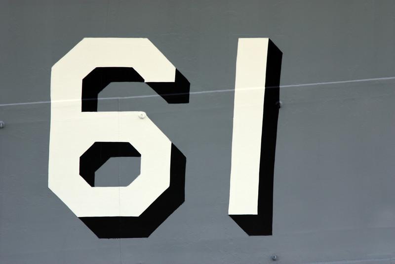 Ship number.