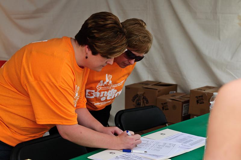 volunteer checkin