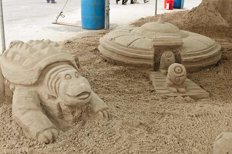 """""""Close Encounters of the SANDsational Kind"""""""