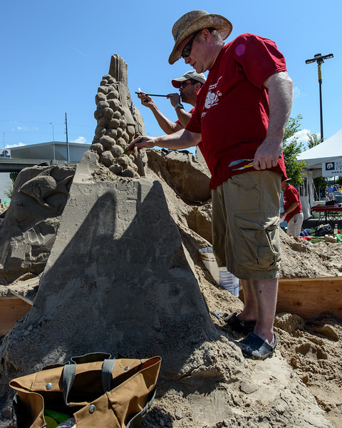 Sand in the City - Sculpting Exhibition 2012