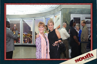 Elaine Zahn, WJCL's Jennifer Andrews~making the Savannah Film Festival bright!!
