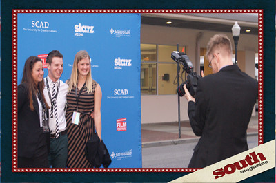 Getting that Red Carpet Shot! Savannah Film Festival 2012