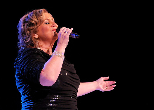 Sandi Patty performs at the Paramount in a concert to celebrate the 50th Anniversary of Community Hospital on Saturday. Proceeds from the concert benefited the Kids Plus Children's Clinic, Coats of Caring and Park Place Community Center.
