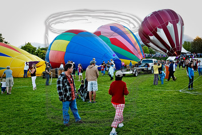 Moon-shine, the maroon balloon at the end, was one of the 1st up.