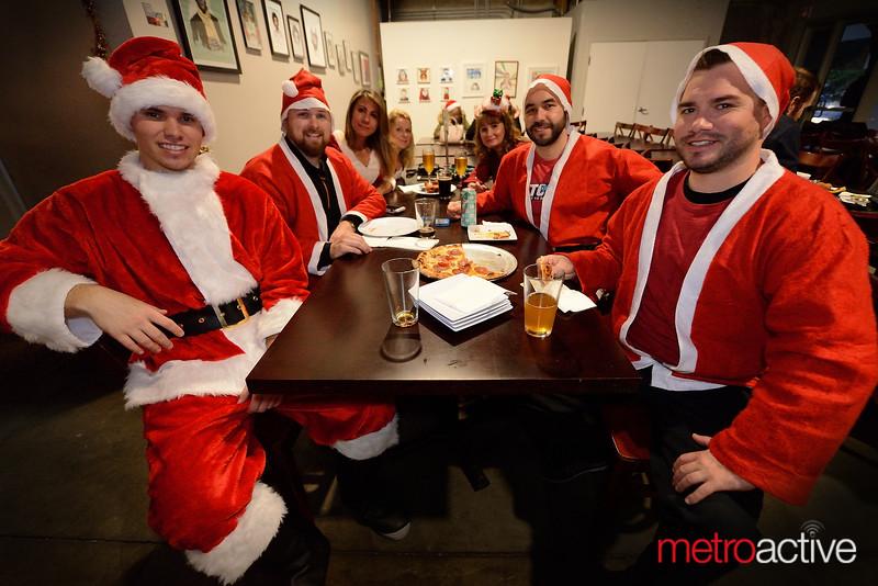 PHOTOS: Santa Con Club Crawl - Downtown San Jose