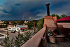 Our view from Hotel Santa Fe while sipping wine