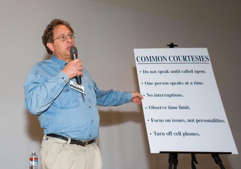 "Santa Fe-based facilitator Bruce Postor reviews the ""rules"""