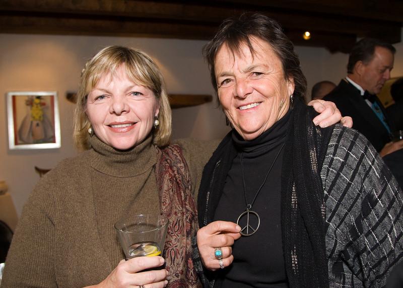 Deborah Potter and Lisa Law