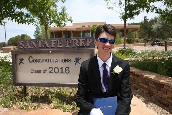 Santa Fe Prep Graduation 2016