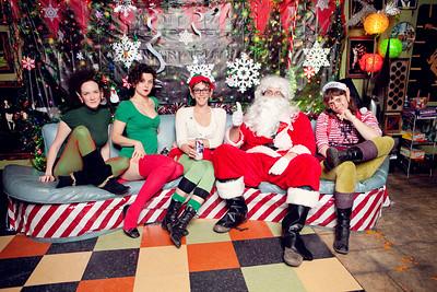 Santa Photos ~ Friday on My Mind at Bottletree