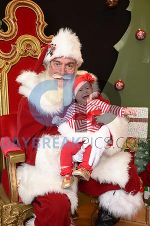 Santa Pics at Goddard School 2016