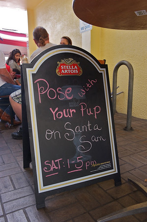 Santa Sam at Hole in the Wall
