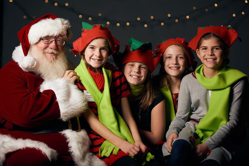 Canterbury School GSO hosts Santa