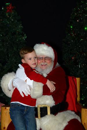 Santa at the ARC 12-18-16