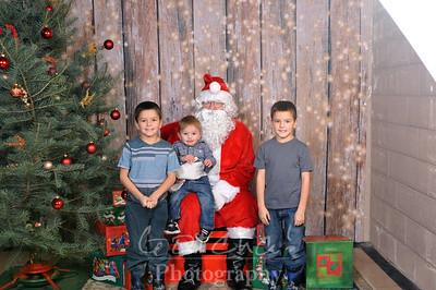Santa in Potlatch