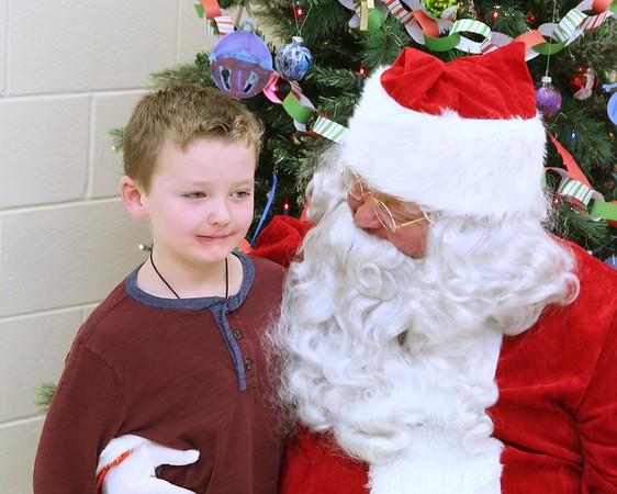 Santa visits Boys and Girls Club