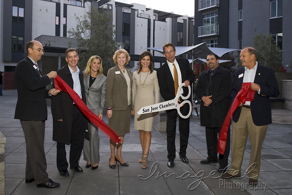 Santana Row Levare Ribbon Cutting October 5th, 2011