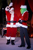 Santa Clause and Grinch