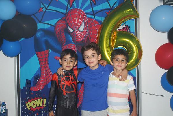 Santi P, Santi V & Tomas 6th Birthday!