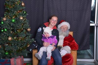 Santa at the  ARC 2015