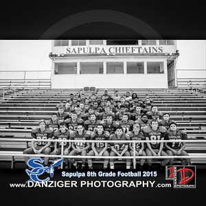 Sapulpa 8th Grade Football 2015
